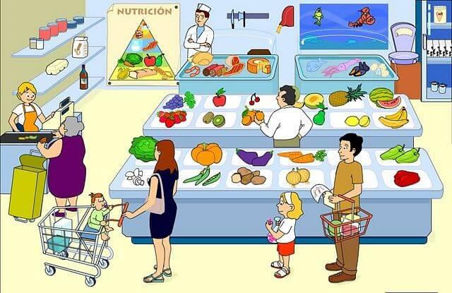 Comercios de productos alimenticios y bebidas
